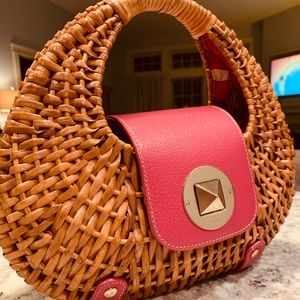 Kate Spade Basket Bag Satchel